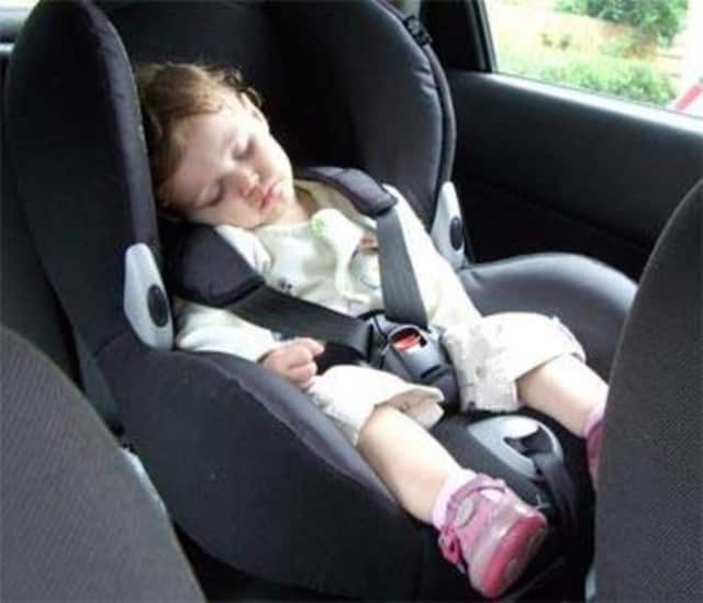 The Ramapo Police Department is asking parents and caregivers who drive to be mindful of child passengers as the warm weather approaches.