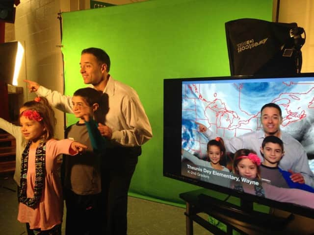 Meteorologist John Marshall will teach Franklin Lakes students about weather.