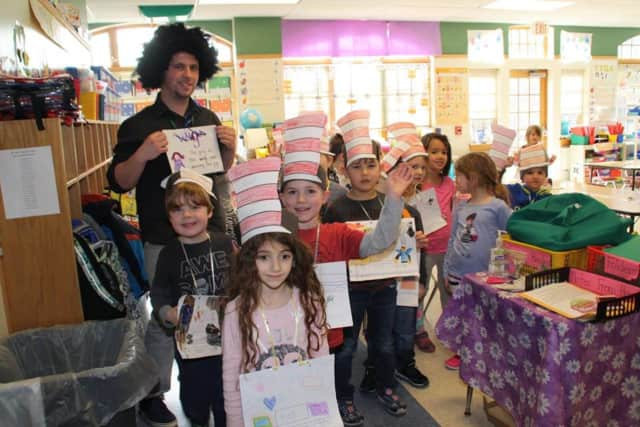Bedford Road students celebrate Dr. Seuss.