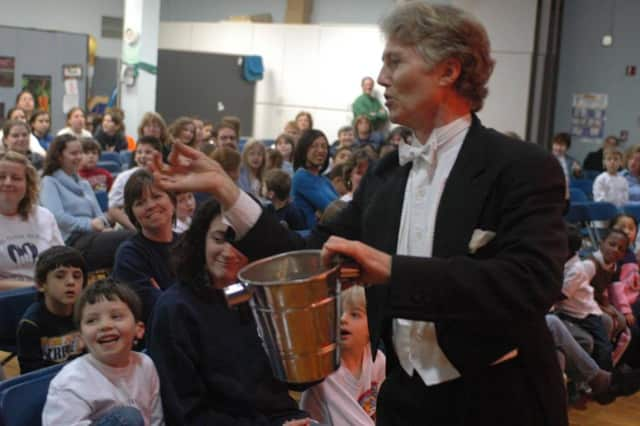 Magician Robert Aberdeen will be at the Mahwah Public Library.