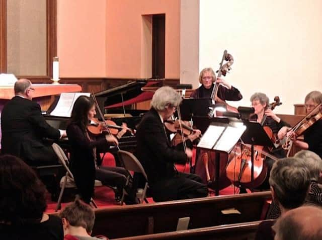 The Leonia Chamber Musicians Society, Inc. will perform at the Leonia Methodist Church on Sunday.