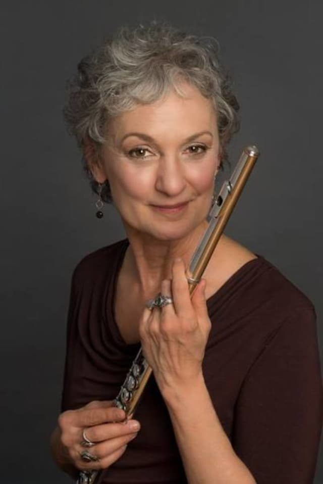 Katherine Fink will play the flute in a free Oakland concert.