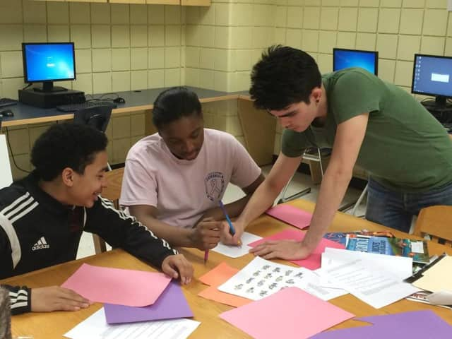 "Students from Peekskill High School and SUNY Purchase have teamed up to create an ""ideal"" Peekskill."