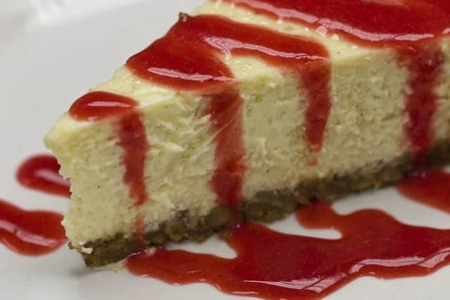 Cheesecake is a staple at Thanksgiving, says a Delish.com report.