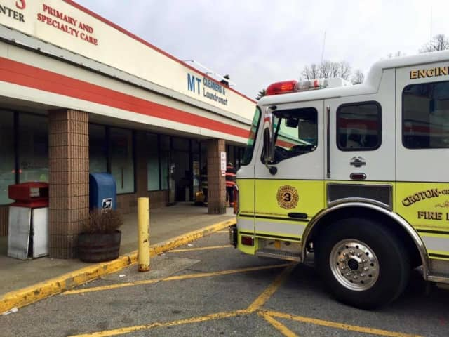 Croton firefighters were called to a private residence Thursday morning after the owner reported hearing popping sounds and seeing smoke in his basement. The smoke turned out to be steam from a malfunctioning boiler.