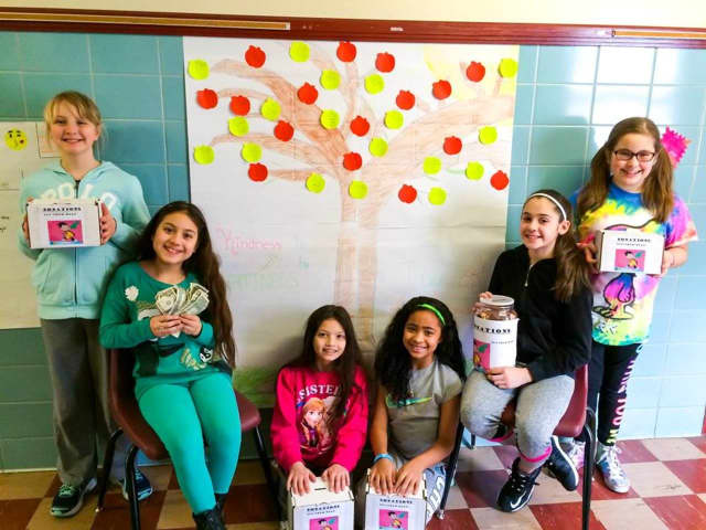 Bergenfield Students collected 'Pennies for Patients.'