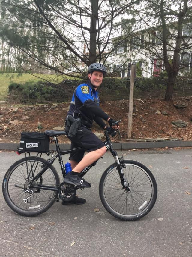 Trumbull Police Officer Blake Petty