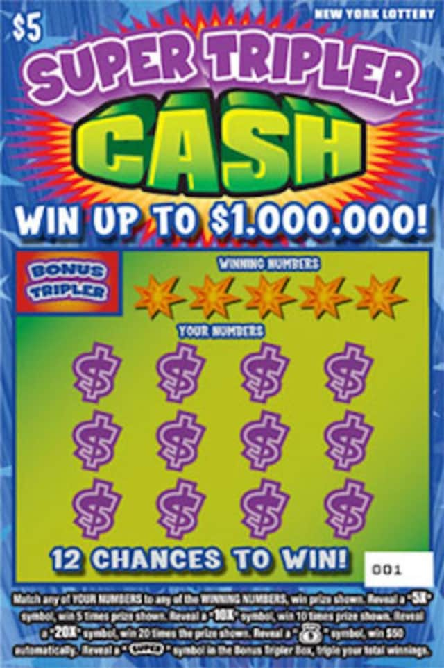 A Dutchess County man will pick up his $1 million winnings on Thursday.