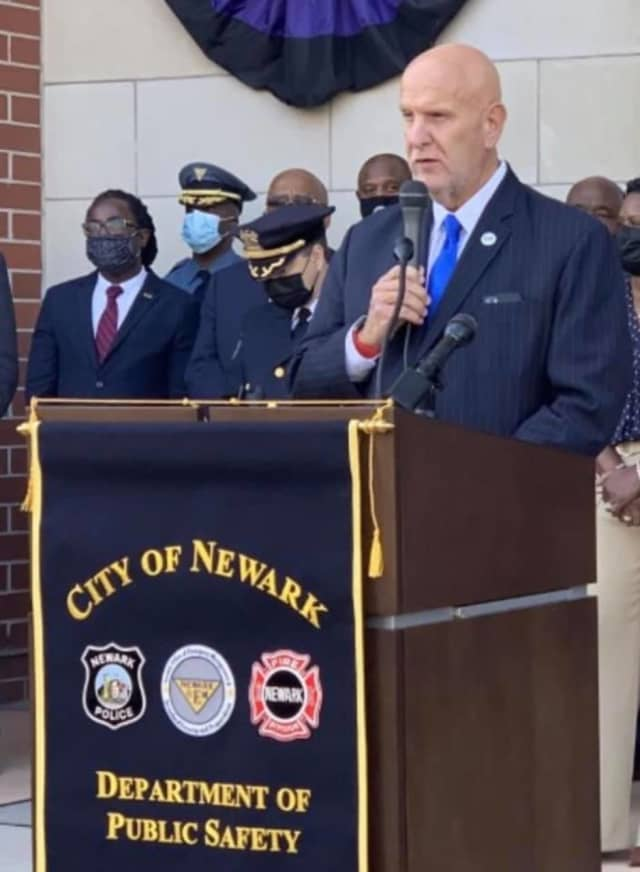 Newark Public Safety Director Anthony F. Ambrose addresses gun violence.
