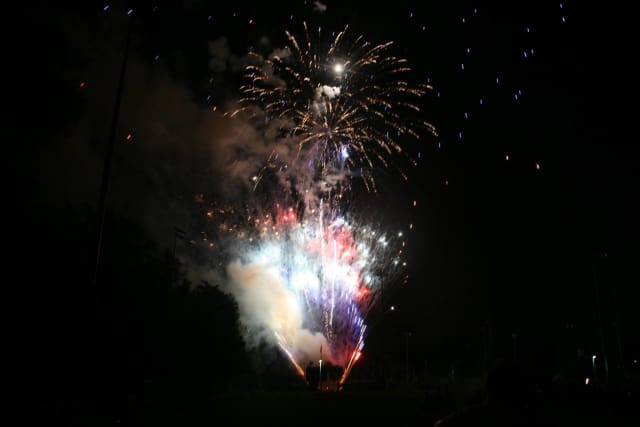 Fireworks at Cliff Gennarelli Sports-Plex in Paramus are always a big draw.