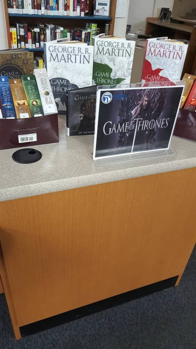 "The Paterson Library will spotlight ""Game of Thrones"" in April."
