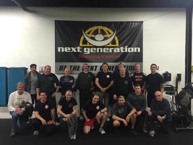 The Fire Department after a session at Next Generation.