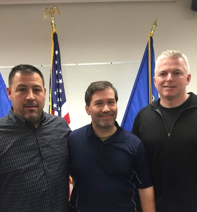 Norwalk Lieutenants Marc Lepore, Tom Roncinske and Terry Blake recently completed the Penn State Justice and Safety Institute Leadership and Command Program.
