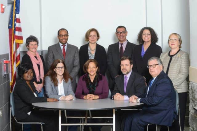 The New Rochelle Board of Education.