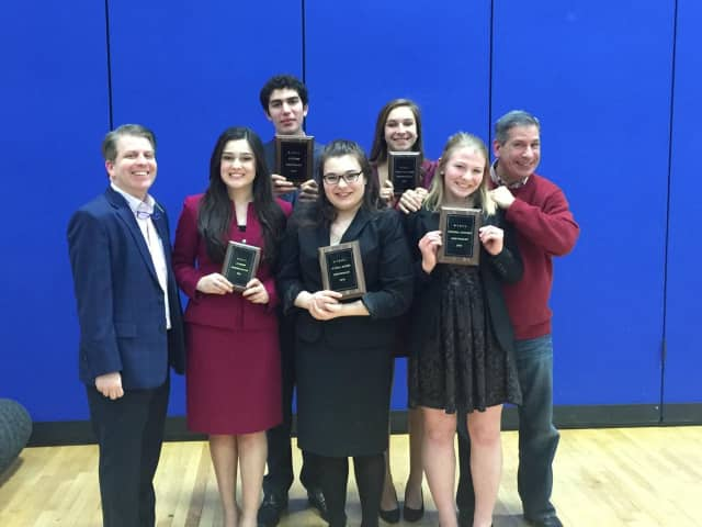 Pelham Manor High School Forensics Speech Team competed against more than 1,000 students.