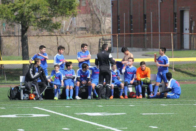 The Norwalk Junior Soccer Association recently beat New Canaan Black.