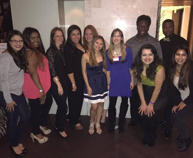 Residents pause for a picture during a recent NR Future Millennial Mixer event in New Rochelle.