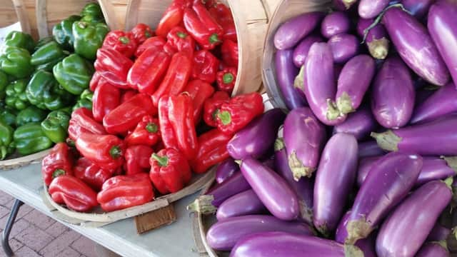 Find fresh veggies galore at local farmers markets.