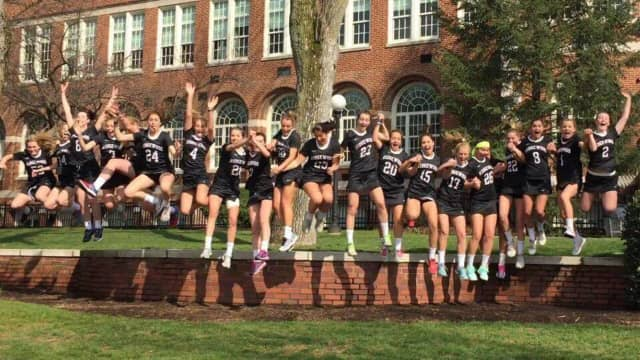 The Ridgewood High School girls lacrosse team is ranked at No.15 on a national Nike poll.