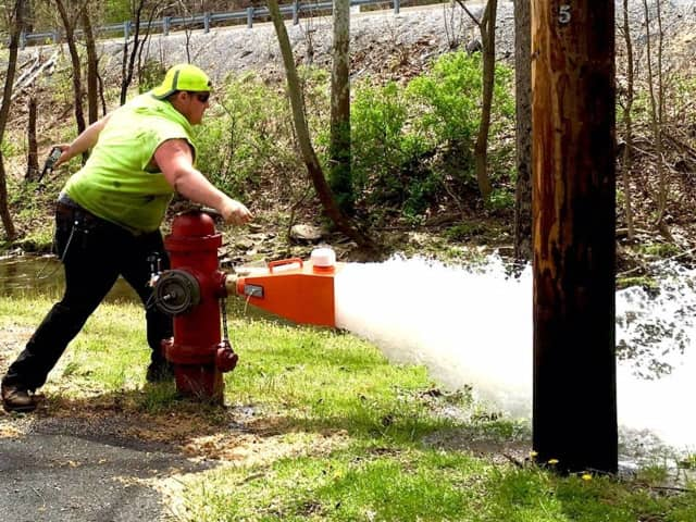 Saddle Brook's hydrants will be flushed April 24 through April 27.