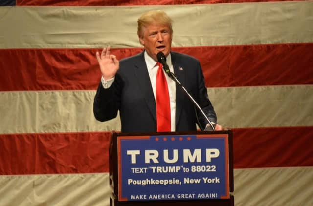 Donald Trump has scheduled a campaign rally for Saturday at Sacred Heart University in Fairfield, Conn.