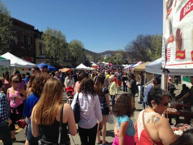 The crowds at the Suffern Street Fair were big enough to spur interest in having another fair in September.