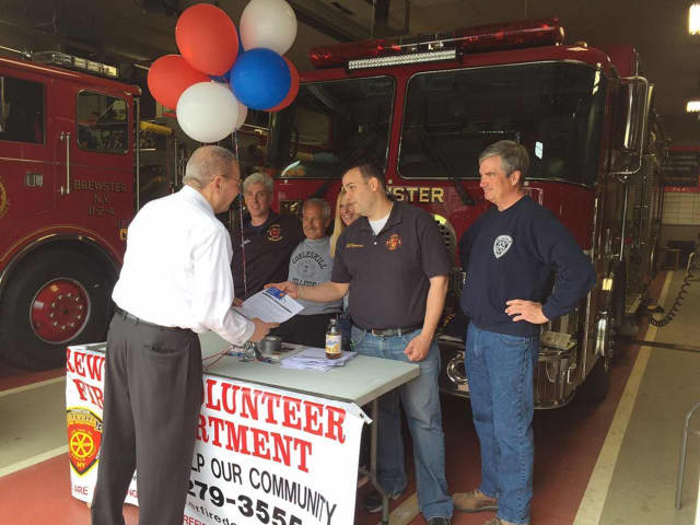 The Brewster Fire Department recently took part in RecruitNY. Volunteers are always needed.