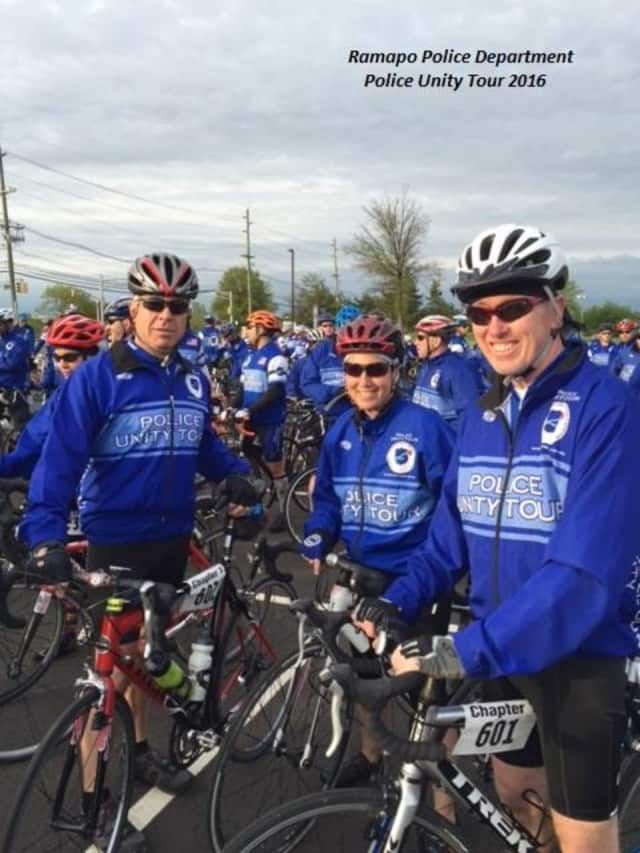 Ramapo police officers are joining thousands of other officers from across the country in the annual Police Unity Tour to raise funds for the Police Memorial Fund.