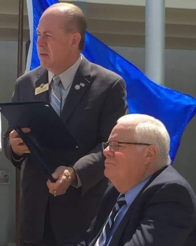 Incumbent Bergen County Clerk John Hogan and Incumbent Surrogate Michael Dressler.