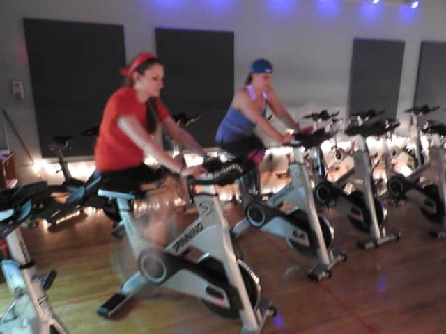 The Wilton PBA is teaming with the Riverbrook Regional YMCA to hold a spinning fundraiser to fight domestic violence.