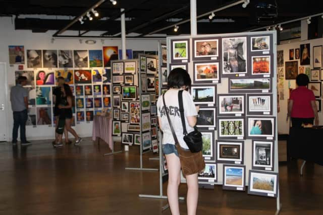 The Pleasantville High School Art Show took place over the weekend.