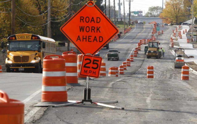 Route 202 will be closed in Suffern for the next three nights for repairs and repaving.