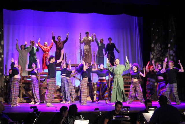 """The cast and crew of Academy of the Holy Angels' spring musical, """"Children of Eden,"""" have been nominated for several Paper Mill Playhouse Rising Star awards."""