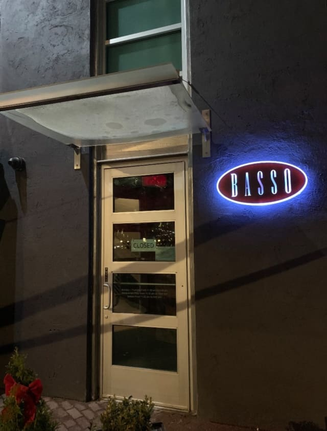 Basso Restaurant & Wine Bar has moved from Norwalk to Westport.