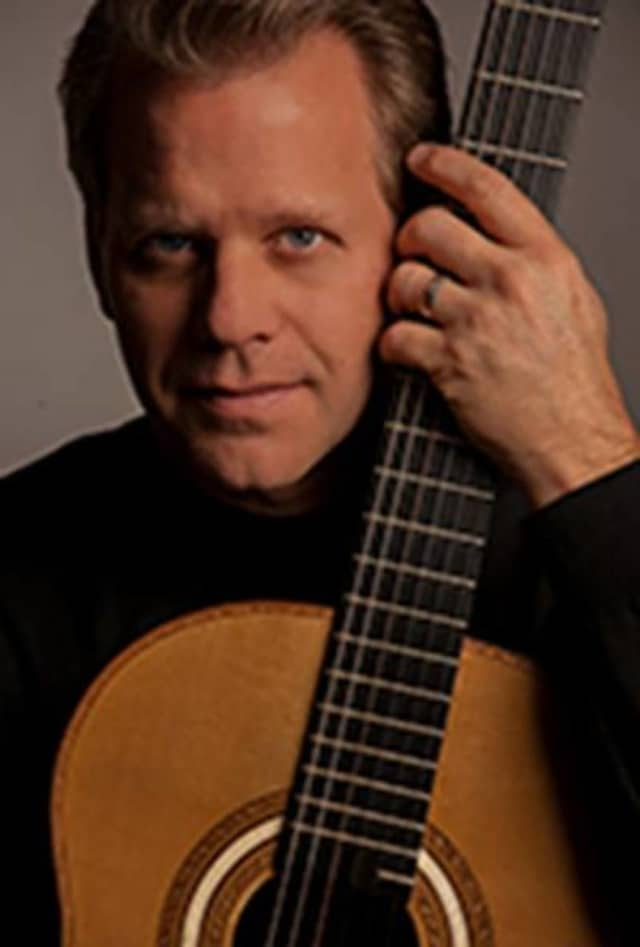 Classical guitarist David Temple will perform June 26 at the Center for Performing Arts at Rhinebeck.