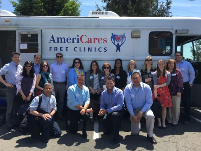 AmeriCares Free Clinics has four locations in Fairfield County. A mobile clinic visits community health centers in Stamford.