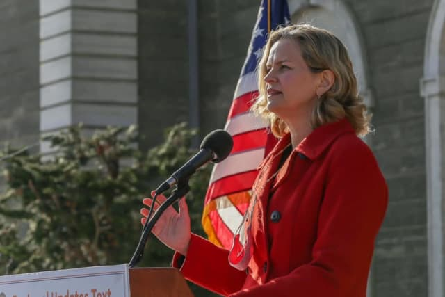 Nassau County Executive Laura Curran is concerned about a spike in cases during the holiday season.