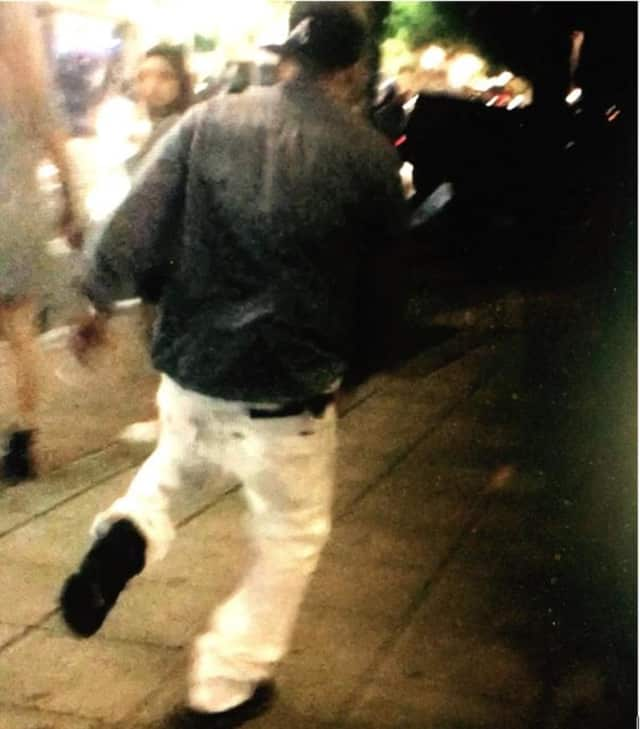 Stamford police are seeking to identify this man, a suspect in an attack on a female member of the LGBT community.