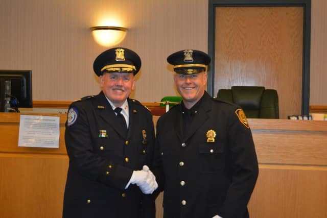 Orangetown police officer Daniel Ryan was assigned to the Youth Division of the Detective Bureau.