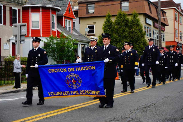 The Croton-on-Hudson Volunteer Fire Department will hold its 125th-anniversary parade in June.