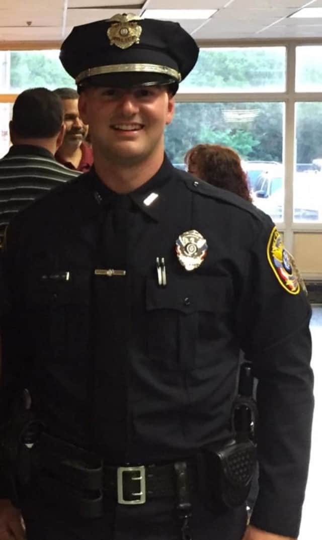 Bethel Police Officer Garrett Vasquez recently graduated from the Connecticut Municipal Police Academy.