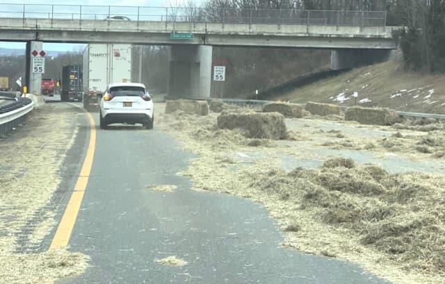 Fallen bales make hay.