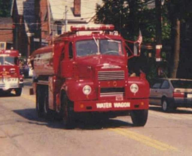 The Croton-on-Hudson Fire Department's old Tanker 10.