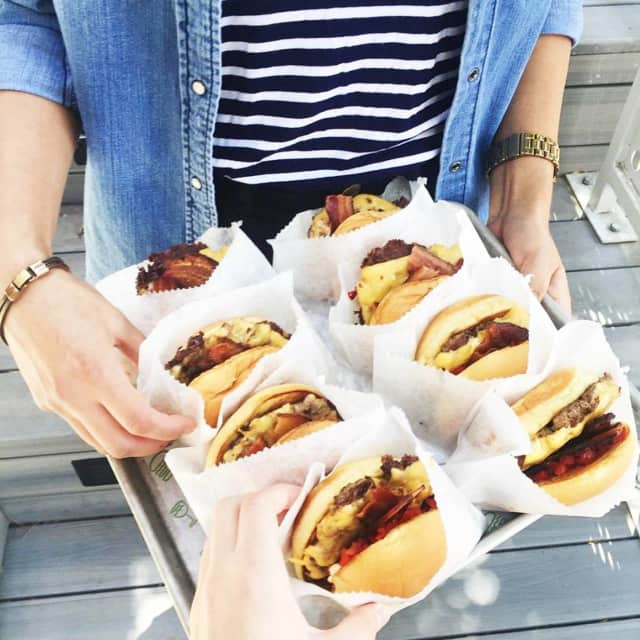 Shake Shack is served.