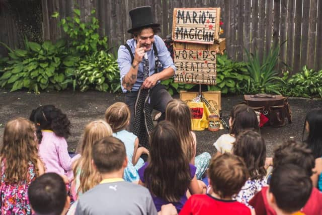 Mario the Magician is bringing his act to Sherman on Saturday.