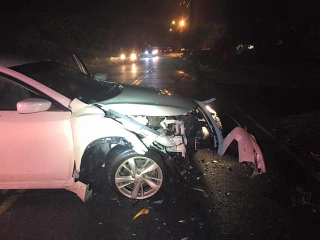 Ramapo police are investigating a car crash on Saddle River Road in Monsey.