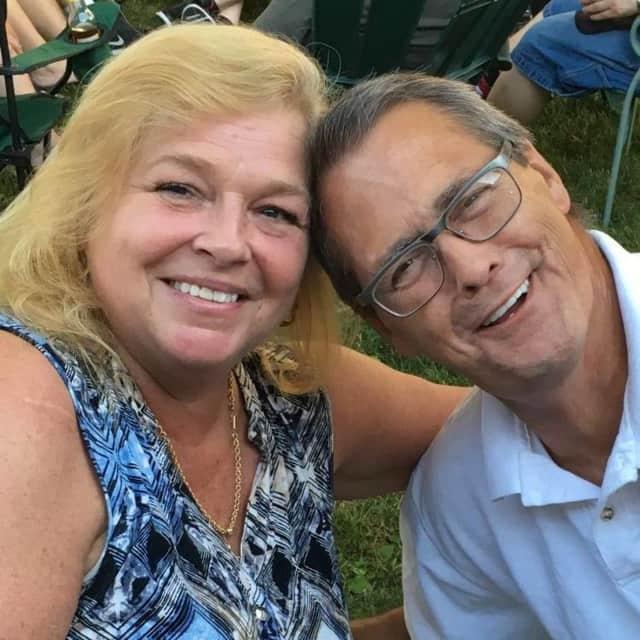 John McVey III with his wife, Lila Lee McVey of Maywood.