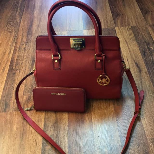 Sales of designer handbags are down.