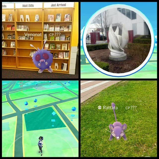 The New Rochelle Public Library was the place to be for trainers playing Pokemon GO.