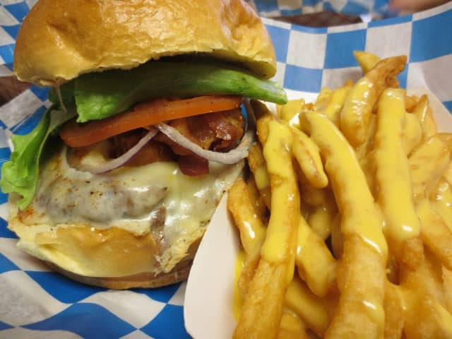 """""""No one leaves hungry,"""" says the owner of Burger Shack in Coram."""